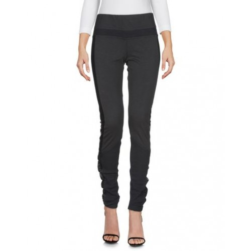 MONTGOMERY Leggings - Pants 50% Cotton, 46% Polyester, 4% Polyacrylic, Shearling Black 13220978FW HGBGftAq