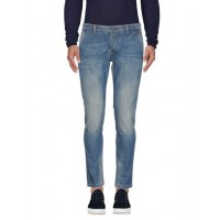 0/ZERO CONSTRUCTION Denim pants - Jeans and Denim 98% Cotton 2% Elastane Blue 42678980WX - Men's Jeans OfEOdTXe