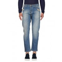 - - -ONE > ∞ Denim pants - Jeans and Denim 98% Cotton 2% Elastane Blue 42674573NM - Men's Jeans cU9mQ1k4